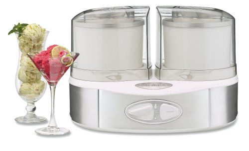 Cuisinart Flavor Duo Frozen Yogurt-Ice Cream & Sorbet Maker