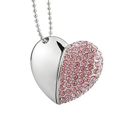 Kootion Heart-shape Pendant USB Flash Drive