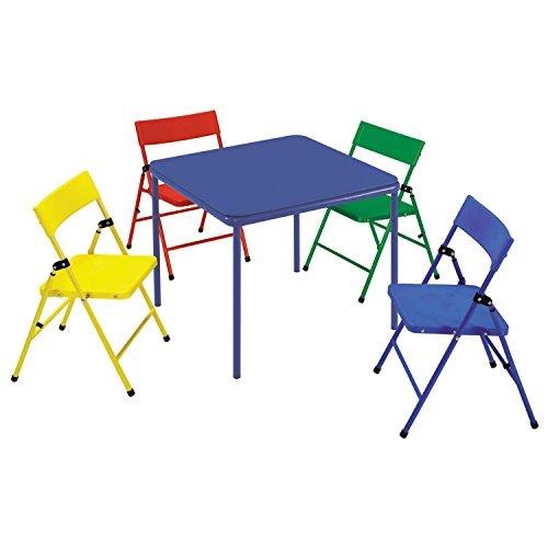 Metro Shop Cosco Kid's 5-piece Colored Folding Chair