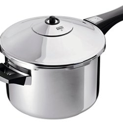 Kuhn Rikon Duromatic Stainless-Steel Saucepan Pressure Cooker