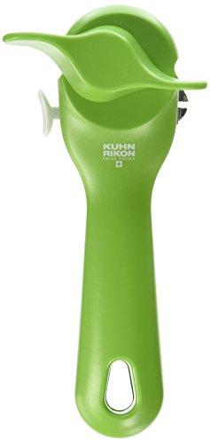 "Kuhn Rikon Can Opener, 7.25"", Green"