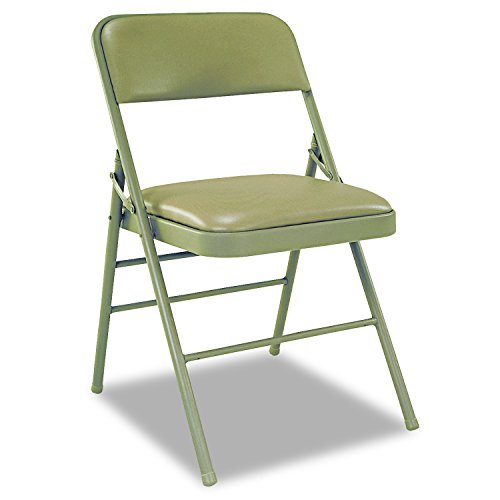 Cosco Deluxe Vinyl Padded Seat & Back Folding Chairs