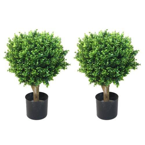 Pure Garden Artificial Hedyotis Tree -Large