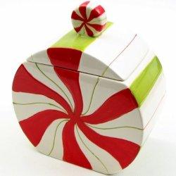 Christmas Decorative Jar Candy Goody Food Spice