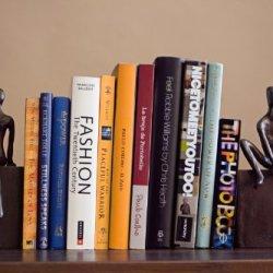 Danya B. Home and Office Shelf Decor - Metal Bookend Set