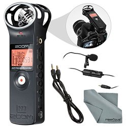 Zoom H1 Portable Digital Audio Recorder Bundle