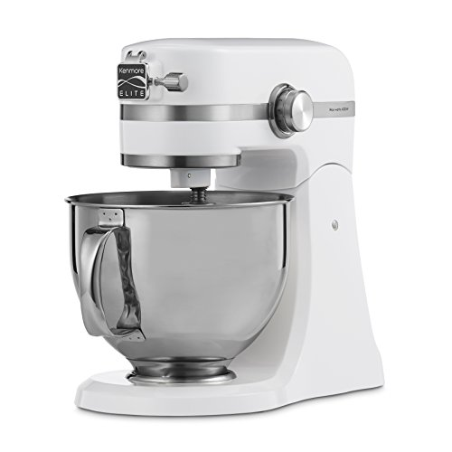 Kenmore Elite 5 Quart Stand Mixer in White