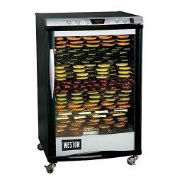 """Weston Food Dehydrator, 21.5"""" x 16"""", Silver"""