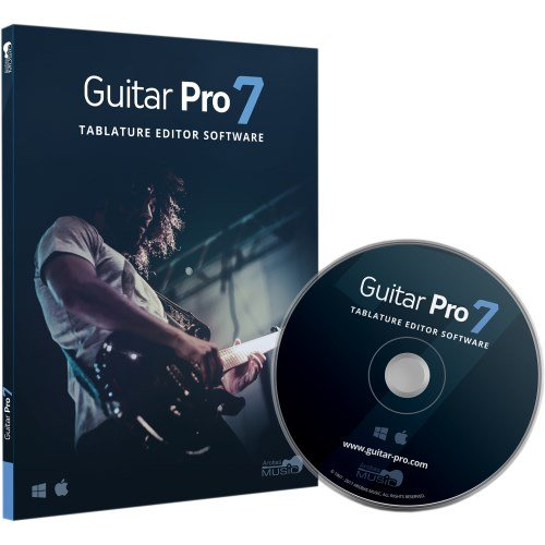 Guitar Pro 7 - Tablature and Notation Editor, Score Player