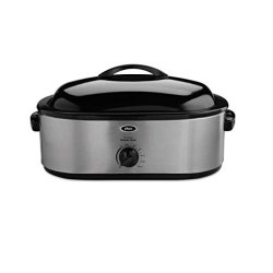22-Pound Roaster Oven with Removable 3-Bin Buffet Server