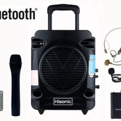 Hisonic True RMS 35 Watts Rechargeable & Portable
