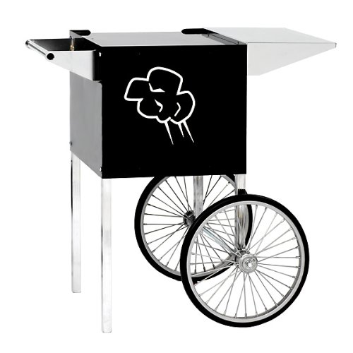Paragon Contempo Small Popcorn Cart for 4-Ounce Poppers (Black)