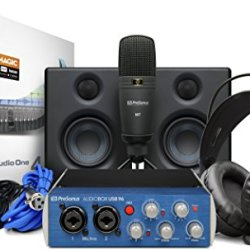 PreSonus AudioBox Studio Ultimate Bundle Complete Hardware