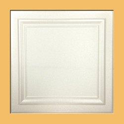 Zeta White (Foam) Ceiling Tile - 100pc Box