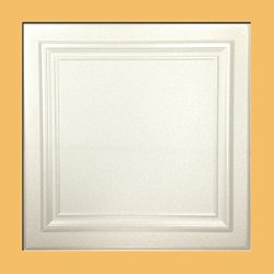 Zeta White (Foam) Ceiling Tile - 100pc Box