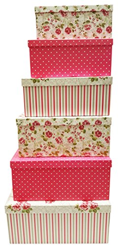 Alef Elegant Decorative Themed Extra Large Nesting Gift Boxes