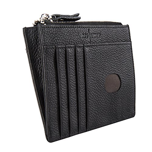 slim minimalist Front Pocket Leather