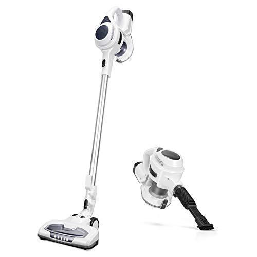MOOSOO M Cordless Vacuum Cleaner, 2 in 1 Stick Vacuum