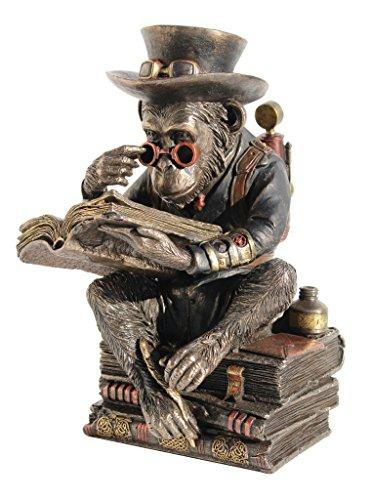 Steampunk Metallic Bronze / Copper Finished Chimpanzee