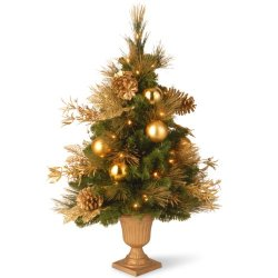 National Tree 36 Inch Decorative Collection Elegance