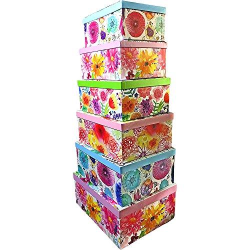 ALEF Elegant Decorative Themed Nesting Gift Boxes