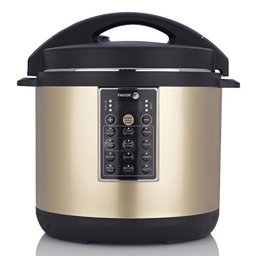 Fagor LUX Multi-Cooker, 8 quart, Electric Pressure Cooker