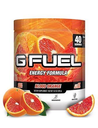 G Fuel Blood Orange Tub (40 Servings) Elite Energy