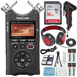 Tascam 4-Track Handheld Digital Audio Recorder