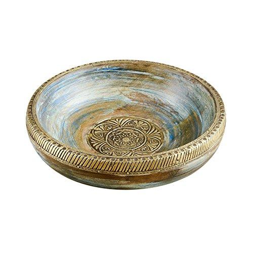 Rusticity Wood Decorative Bowl/Serving Bowl/Key Bowl