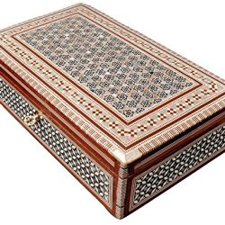 Jewelry Box Mother of Pearl - Egyptian Decorative Mosaic