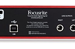 Focusrite Scarlett 2i2 (2nd Gen) USB Audio Interface Focusrite Scarlett 2i2 (2nd Gen) USB Audio Interface with Pro Tools First, Red, 2i2 - 2 Mic Pres.