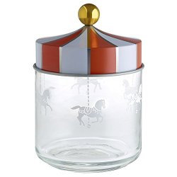 Alessi Decorative Circus Jar, Multicolor