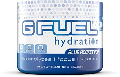 G Fuel Hydration Blue Rocket Pop Tub Elite Hydration