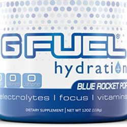 G Fuel Hydration Blue Rocket Pop Tub Elite Hydration