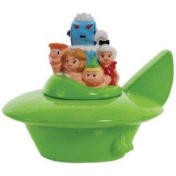 Westland Giftware Ceramic Cookie Jar, 9.25-Inch, The Jetsons Spaceship