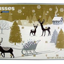 2018 Hershey's Kisses Milk Chocolate Christmas Advent