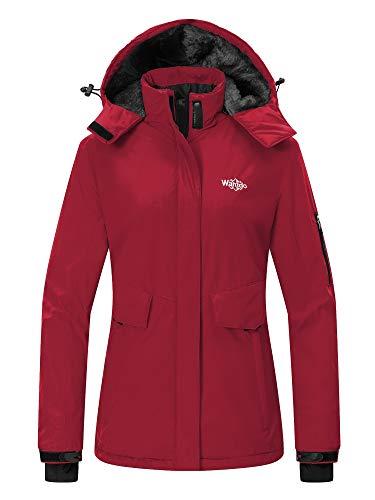 Wantdo Women's Winter Ski Jacket Mountain