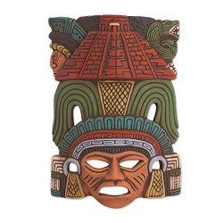 NOVICA Decorative Ceramic Cultural Mask