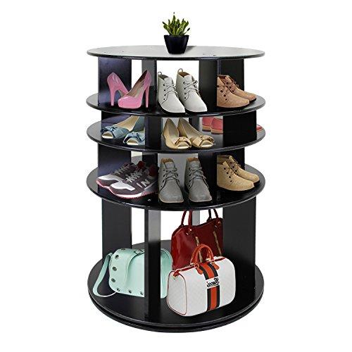 Jerry & Maggie - Rotated Shoe Rack Shelf Table