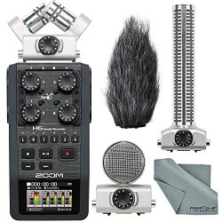 Zoom H6 Handy Portable Recorder and Zoom