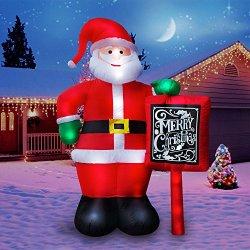 Holidayana 10 Ft. Giant Inflatable Santa Claus