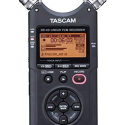 TATASCAM 4-Track Portable Digital RecorderSCAM 4-Track Portable Digital Recorder