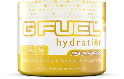 G Fuel Hydration Peach Pineapple Tub Elite Hydration Formula