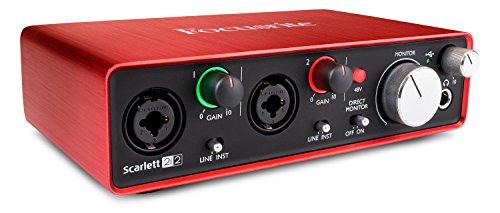 Focusrite Scarlett 2i2 (2nd Gen) USB Audio Interface