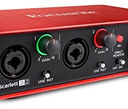 Focusrite Scarlett 2i2 (2nd Gen) USB Audio Interface