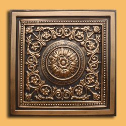 30pc of Majesty Bronze/Black Ceiling Tiles