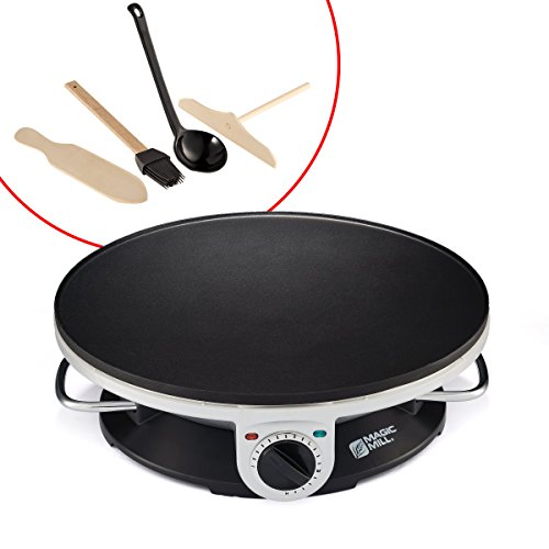 """Magic Mill 13"""" Professional Electric Crepe Maker & Griddle"""