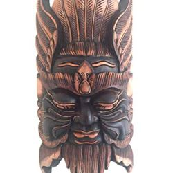 OMA African Mask Wall Hanging Decor Wise Man