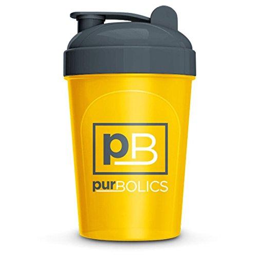 Purbolics Shaker Bottle | 16 oz Shaker Bottle