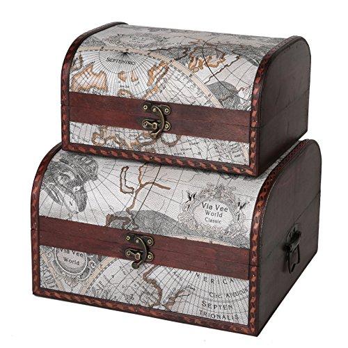 SLPR First Class Wooden Boxes | Vintage Themed Antique